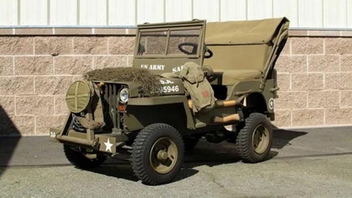 Willys Military MB, детский внедорожник