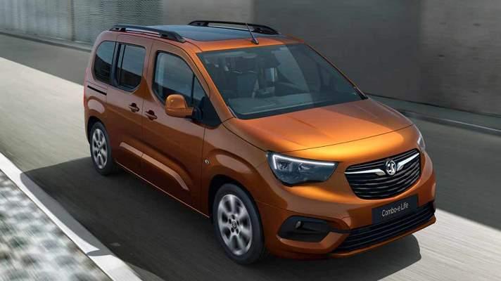 Opel Combo-e Life, новый минивэн