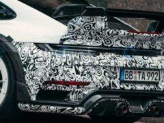Появились снимки нового Techart GTstreet R Porsche 911