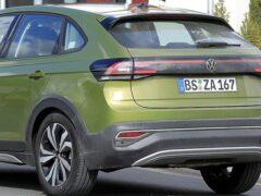 Volkswagen вывела на тесты новое кросс-купе Taigo для Европы