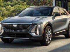 Почему у электрокара Cadillac Lyriq нет переднего багажника