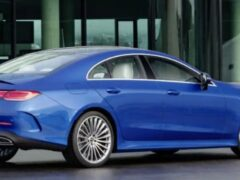 В РФ стартовал прием заказов на обновленный Mercedes-Benz CLS