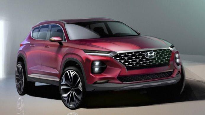 Hyundai Santa Fe, нового поколения