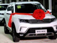 Yema вывела на рынок кроссовер Bojun 2022 модельного года