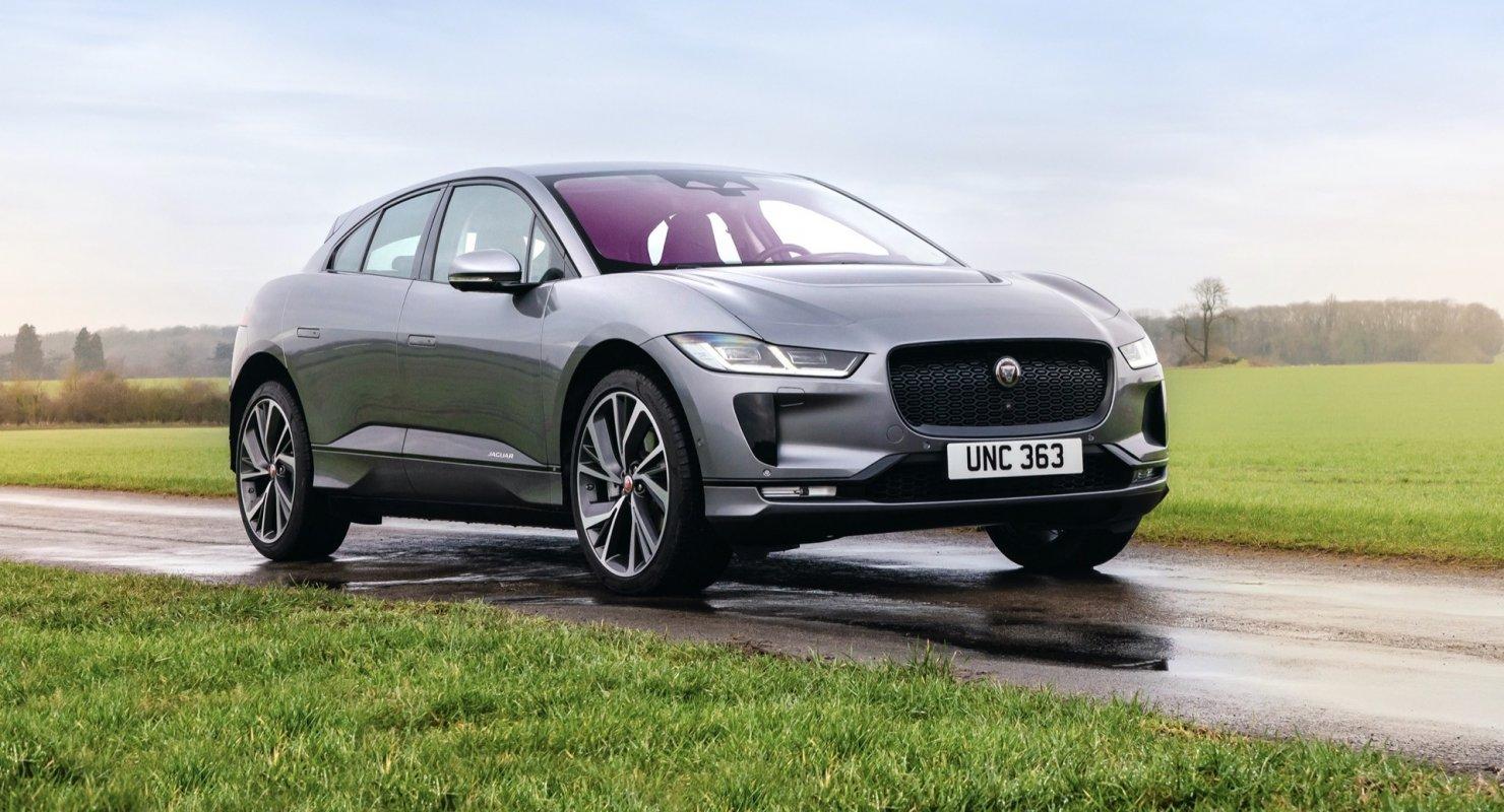 Jaguar I-Pace 2022 года
