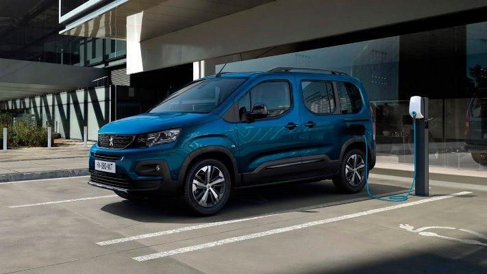 Peugeot e-Rifter, электрофургон