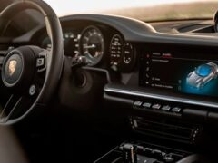 Porsche показал новое поколение медиасистемы PCM 6.0