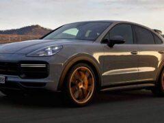 Компания Porsche официально представила новый кроссовер Cayenne Turbo GT