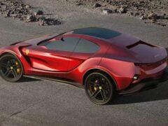 В Сети появились изображения кроссовера Ferrari