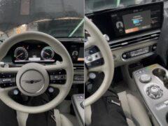 Рассекречен интерьер нового кросс-купе Genesis GV60