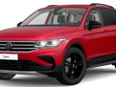 Новый Volkswagen Tiguan получил спортивную версию Urban Sport