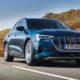 Audi предложила обновление для электрокроссовера E-Tron