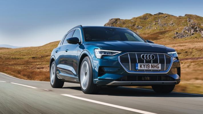 Audi E-Tron, электрокроссовер