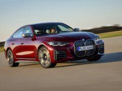Компания BMW представила новый лифтбек 4-Series Gran Coupe 2022 года