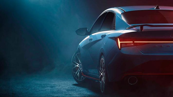 Hyundai Elantra N 2022 года, новый седан
