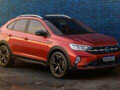 Прототип нового кроссовера Volkswagen Taigo замечен на тестах