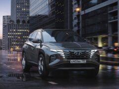 В России представлен новый кроссовер Hyundai Tucson