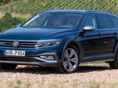 Volkswagen представил на рынке России новый универсал Passat Alltrack