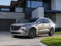 Buick официально представил обновленный кроссовер Enclave