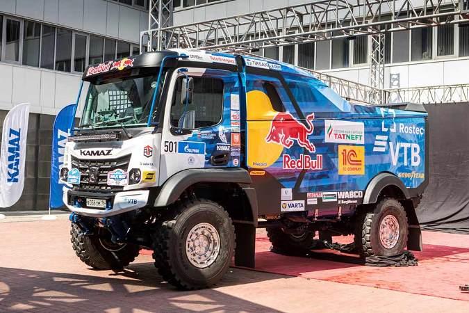 КамАЗ, кабина К5, гоночный грузовик