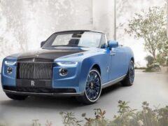Автор BMW X5 назвал поразительным дизайн Rolls-Royce Boat Tail