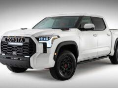 Toyota вынужденно рассекретила пикап Tundra TRD Pro 2022 года
