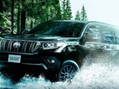 Toyota Land Cruiser Prado получил юбилейную спецверсию в России