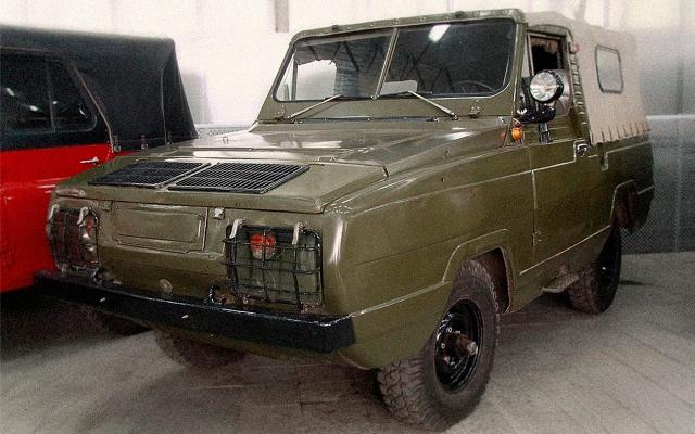 УАЗ-3907, амфибия