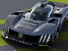 Рассекречен новый гиперкар Peugeot 9X8, созданный для «Ле-Мана»