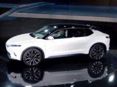 Chrysler показал концепт электрокара Airflow Vision с семью экранами