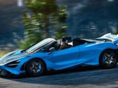 McLaren официально представил кабриолет 765LT Spider