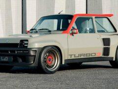 Во Франции представили ретромод Legende Turbo 3