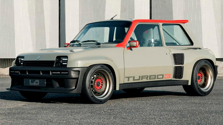 Renault Legende Turbo 3, ретромод