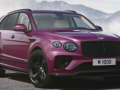 Компания Bentley отмечает выпуск 1000-й модели ателье Mulliner