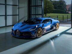 Компания Bugatti выпустила последний экземпляр гиперкара Divo