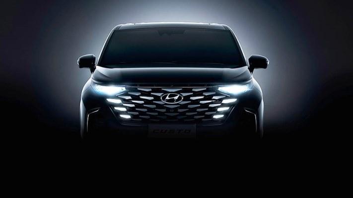 Hyundai Custo, новый минивэн