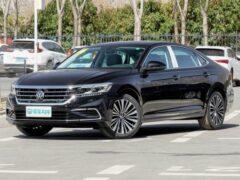 Volkswagen представил прощальную версию седана Passat для рынка США