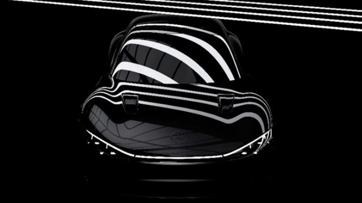 Mercedes-Benz, электромобиль, тизер