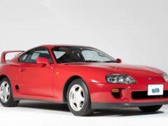В Японии выставлен на аукцион Toyota Supra, простоявший в гараже 22 года