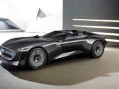 Компания Audi представила электрический концепт Skysphere
