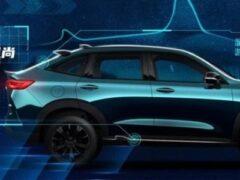 Haval представил официальные фото нового кросс-купе H6S