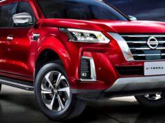 Nissan представил обновленный внедорожник Terra для рынка Таиланда