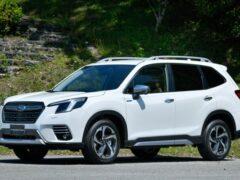Subaru сертифицировала рестайлинговый кроссовер Forester для рынка РФ
