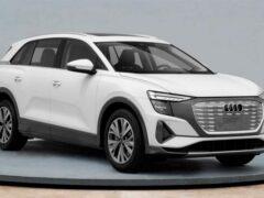 Новый электрокроссовер Audi рассекретили до премьеры