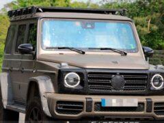 Daimler вывел на тесты новую вариацию внедорожника G-Class