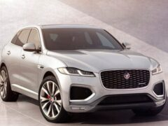 В России начались продажи кроссовера Jaguar F-Pace 2022 модельного года