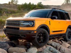 Экстремальная версия Ford Bronco будет называться Raptor
