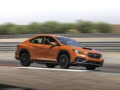 Компания Subaru представила спортивный седан WRX новой генерации
