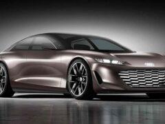 Компания Audi представила электрический концепт Grandsphere