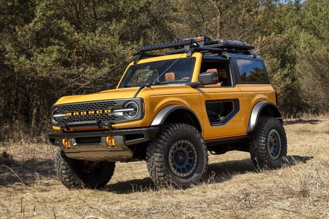 Ford Bronco, новый внедорожник